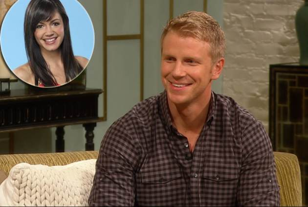 &#39;Bachelor&#39; Sean Lowe, inset: Desiree Hartsock -- Access Hollywood / ABC