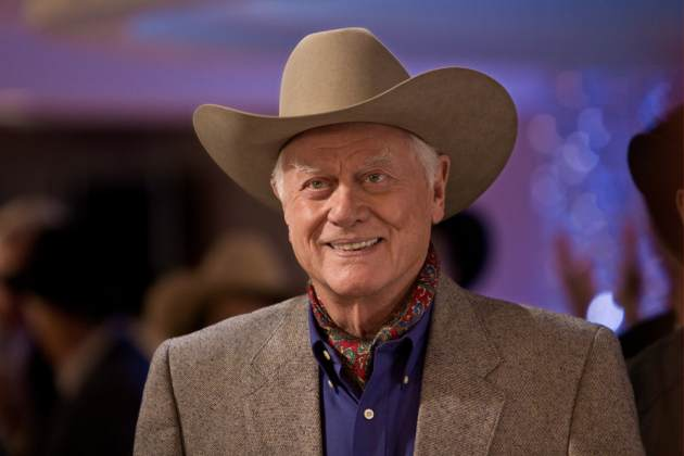 Larry Hagman as J.R. Ewing in &#39;Dallas&#39; -- TNT
