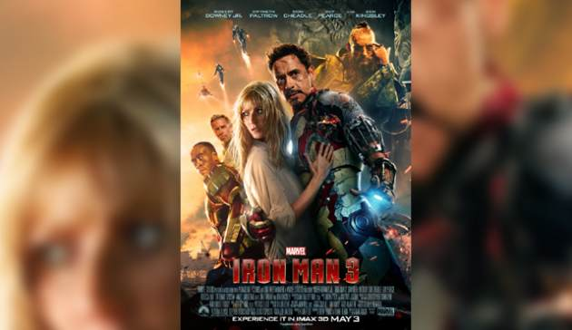 The 'Iron Man 3' poster -- Walt Disney Studios