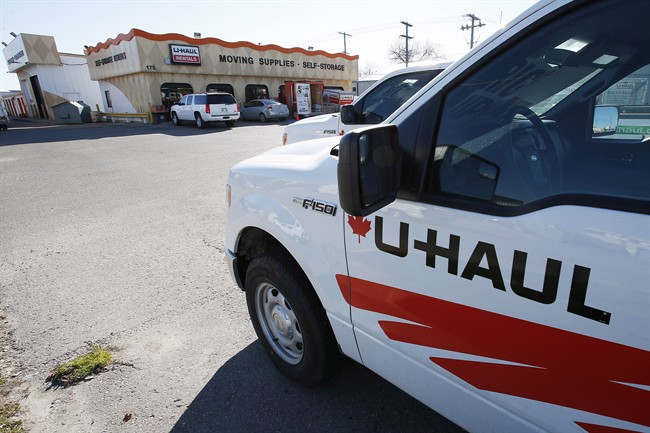 U Haul South Porcupine U-Haul storage locker