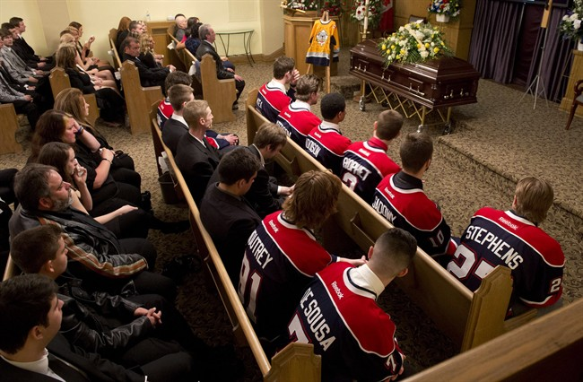 OHL: Terry Trafford Remembered By Friends, Family And Teammates At Funeral