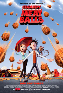 Poster of Cloudy With a Chance of Meatballs