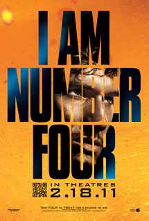 Poster of I Am Number Four