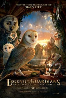 Poster of Legend of the Guardians: The Owls of Ga&#39;Hoole