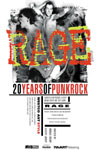 Poster of Rage: 20 Years of Punk Rock West Coast Style