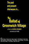 Poster of The Ballad of Greenwich Village