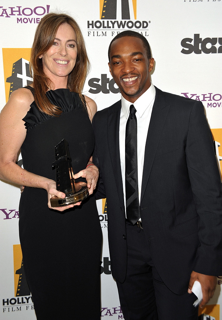 13th Annual Hollywood Awards Gala 2009 Kathryn Bigelow Anthony Mackie