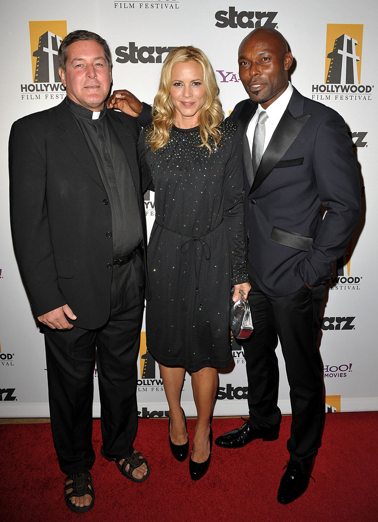 13th Annual Hollywood Awards Gala 2009 Rick Frechette Maria Bello Jimmy Jean Louis