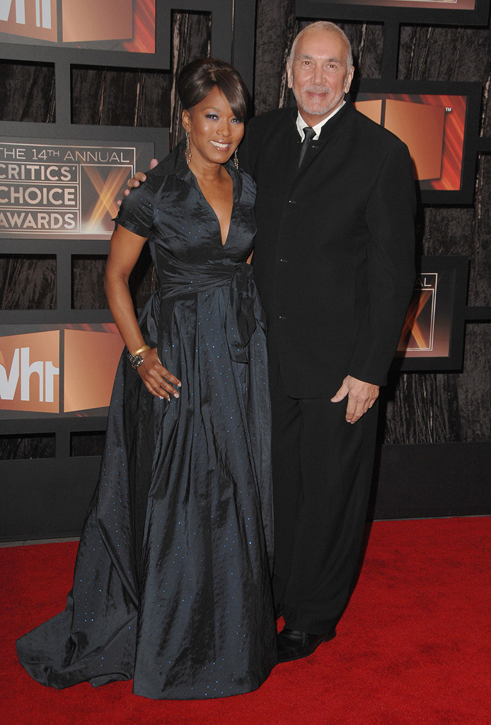 14th Annual Critics' Choice Awards 2009 Angela Bassett Frank Langella