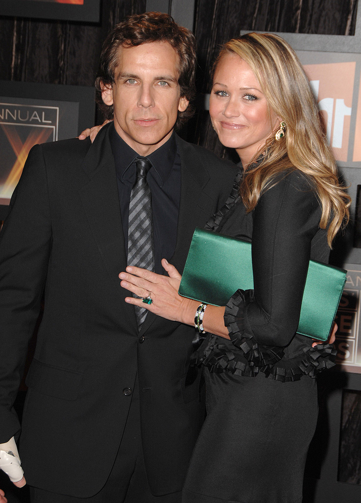14th Annual Critics' Choice Awards 2009 Ben Stiller Christine Taylor