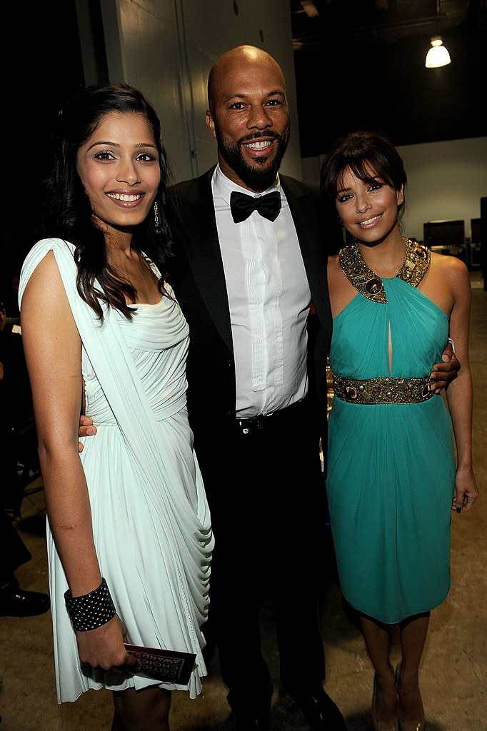 14th Annual Critics' Choice Awards 2009 Freida Pinto Common Eva Longoria Parker