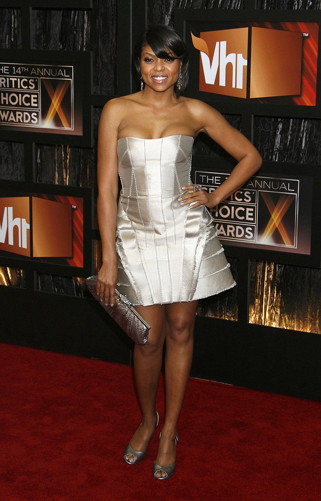 14th Annual Critics' Choice Awards 2009 Taraji P. Henson