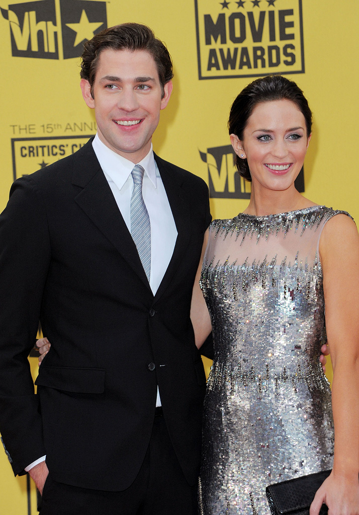 15th Annual Critics' Choice Awards 2010 John Krasinski Emily Blunt