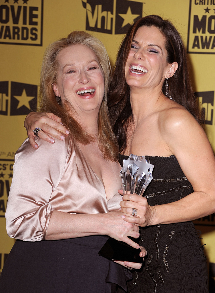 15th Annual Critics' Choice Awards 2010 Meryl Streep Sandra Bullock