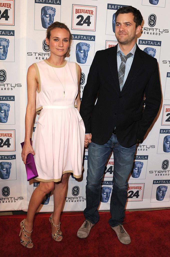16th Annual BAFTA/LA Award Season Tea Party 2010 Diane Kruger Joshua Jackson