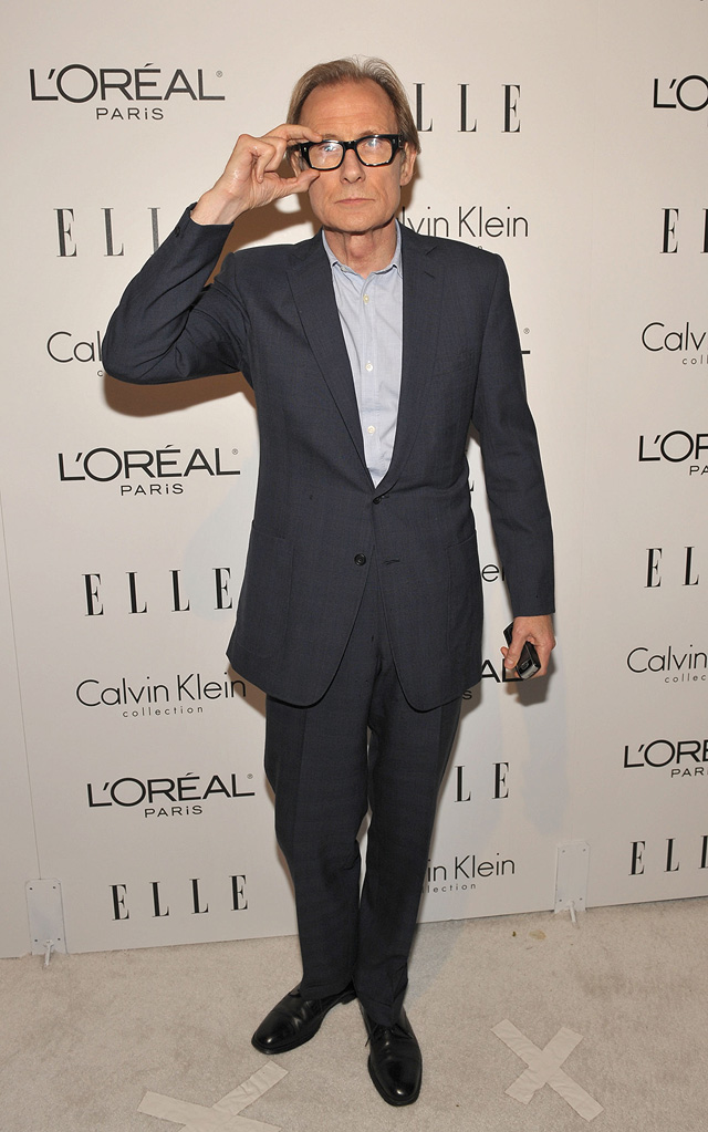 16th Annual ELLE Women in Hollywood Tribute 2009 Bill Nighy