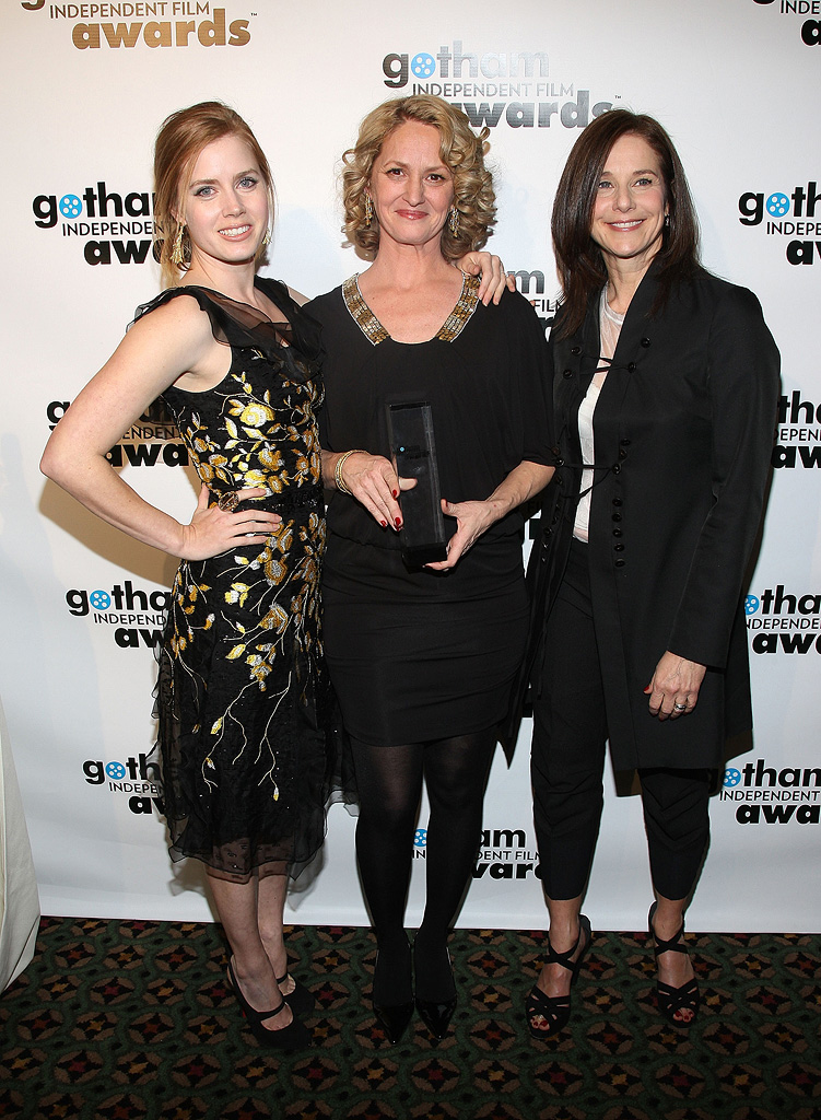 18th Annual Gotham Independent Film Awards NY 2008 Amy Adams Debra Winger Melissa Leo