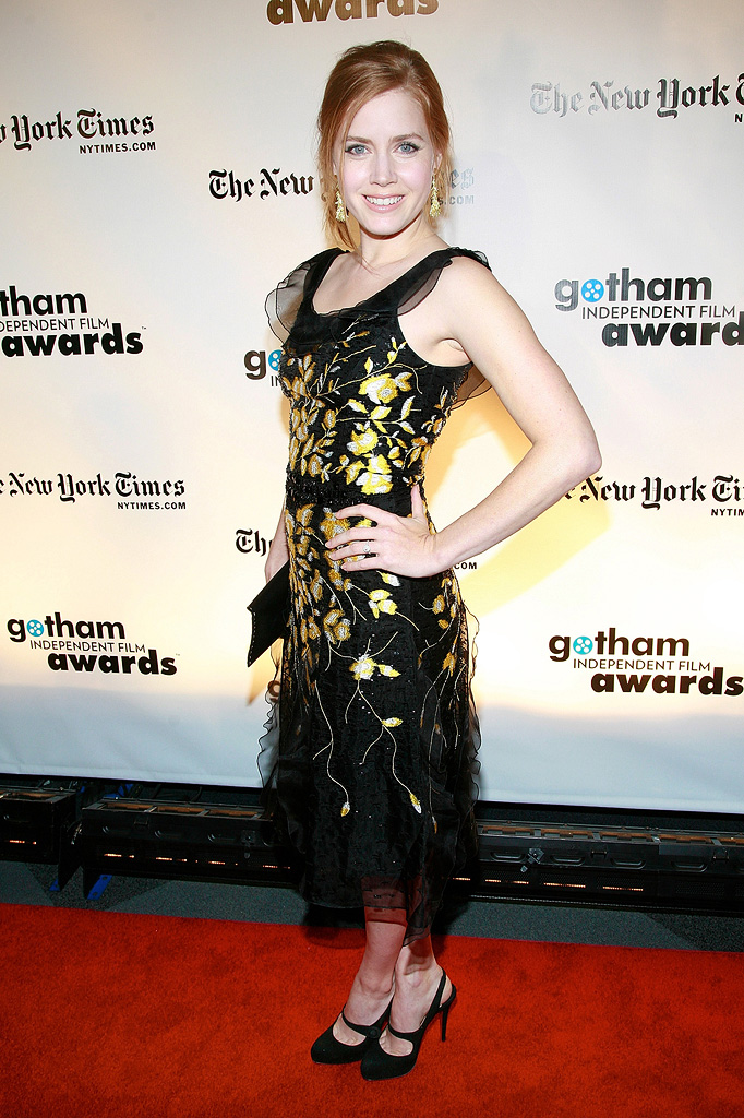 18th Annual Gotham Independent Film Awards NY 2008 Amy Adams