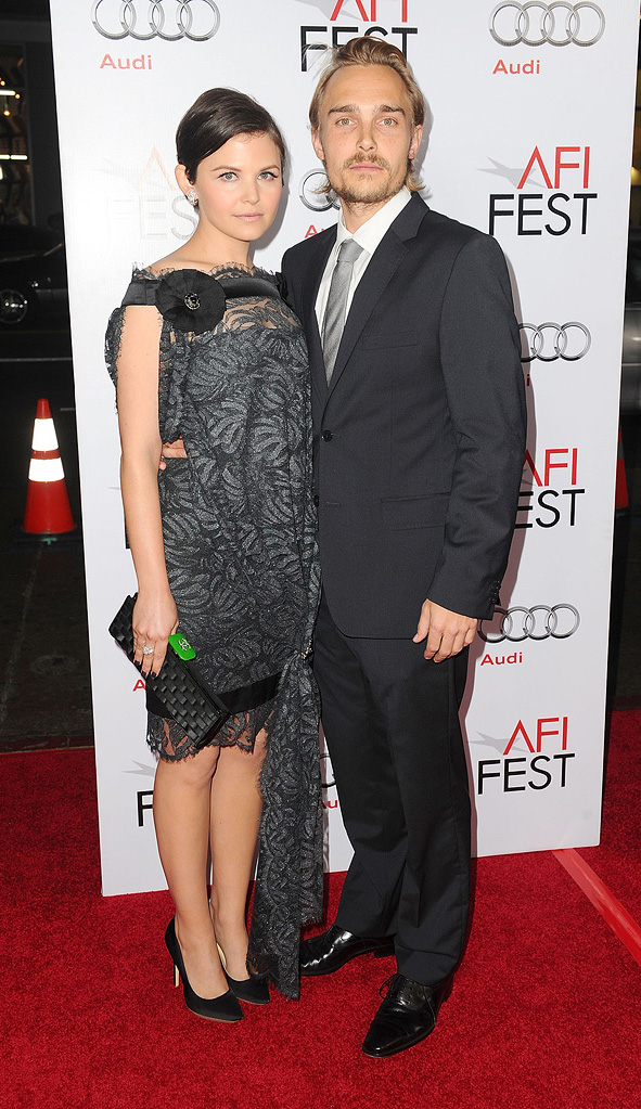 2009 AFI Fest A Single Man Ginnifer Goodwin Joey Kern