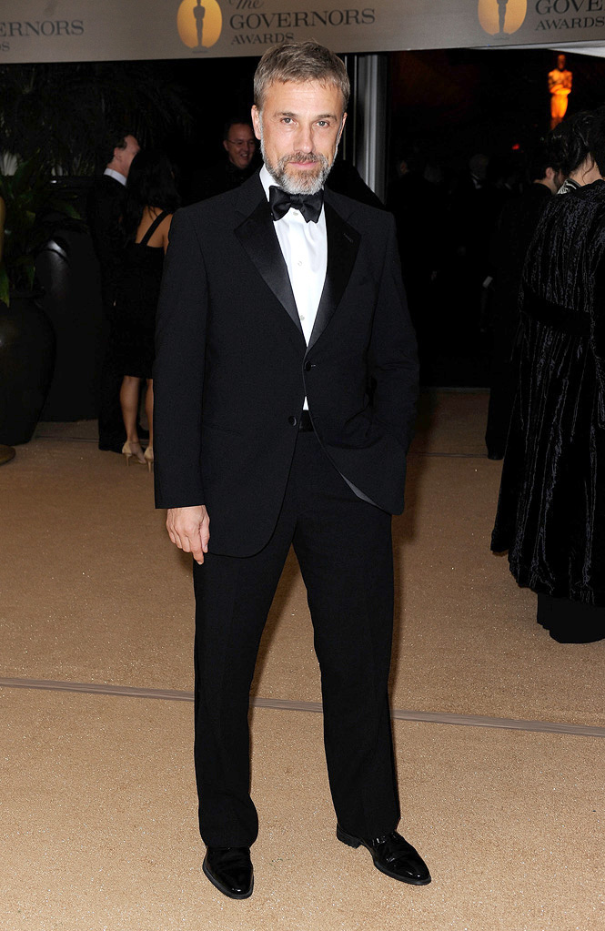 2009 AMPAS Inaugural Governors Awards Christoph Waltz
