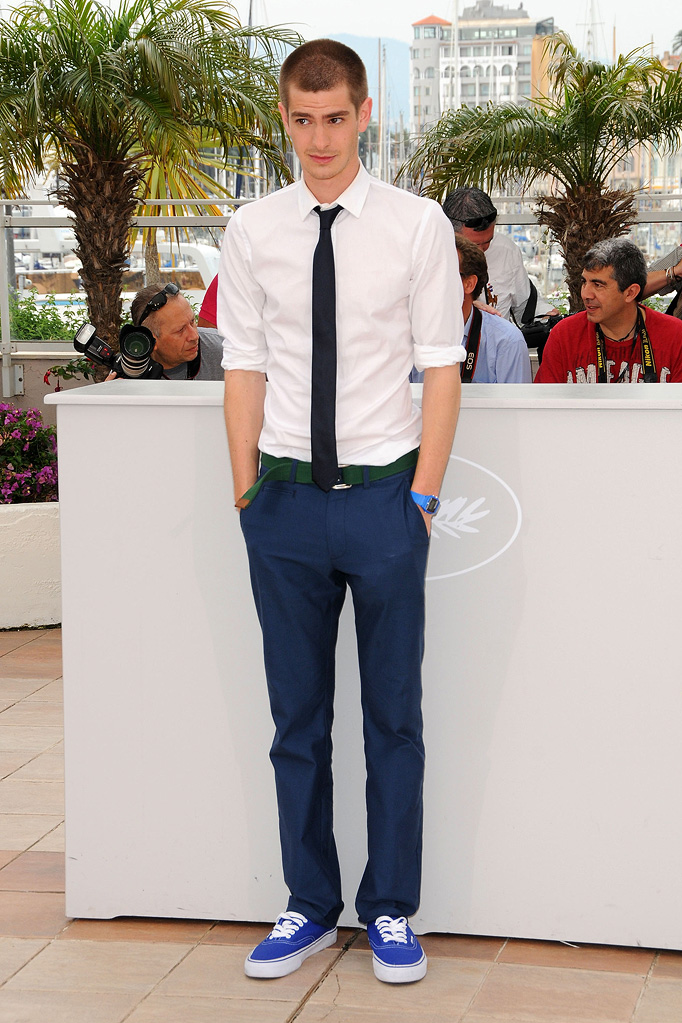 2009 Cannes Film Festival Andrew Garfield