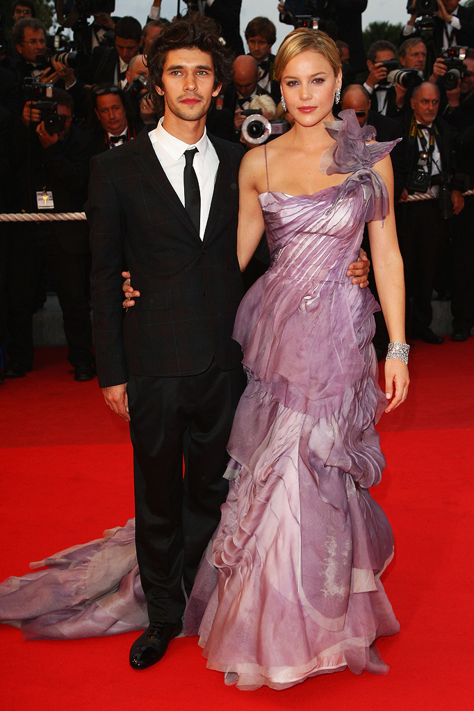 2009 Cannes Film Festival Ben Whishaw Abbie Cornish Bright star premiere