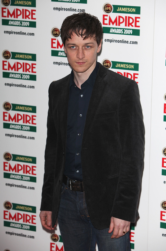 2009 Empire Awards UK James McAvoy