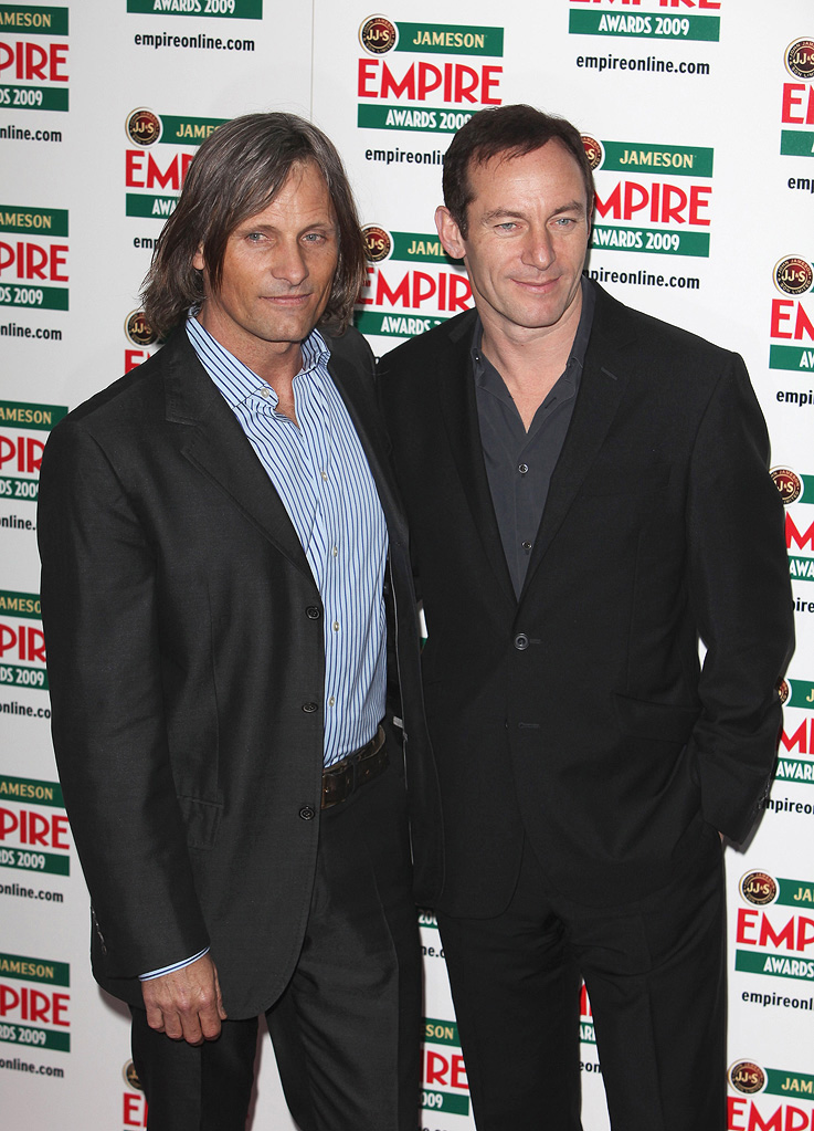2009 Empire Awards UK Viggo Mortensen Jason Isaacs