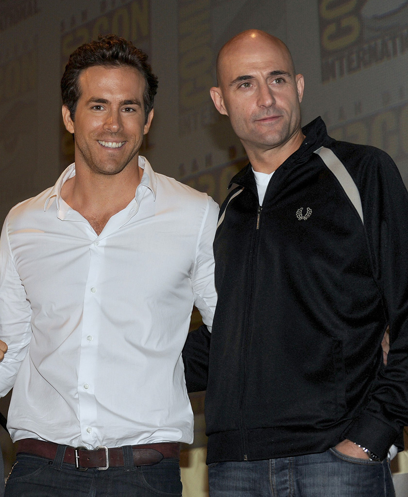 2010 Comic Con Panels Ryan Reynolds Mark Strong