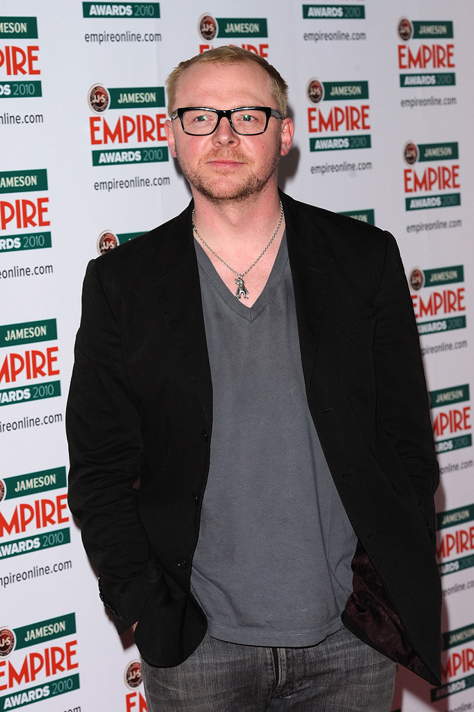 2010 Empire Film Awards Simon Pegg