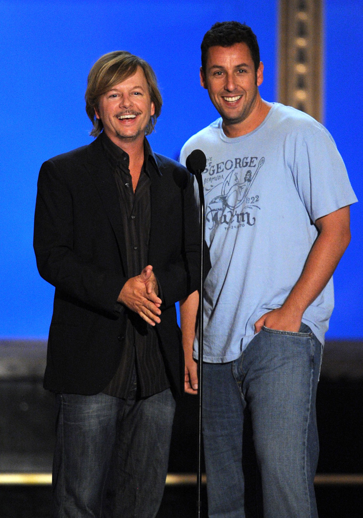 2010 guys choice awards David Spade Adam Sandler