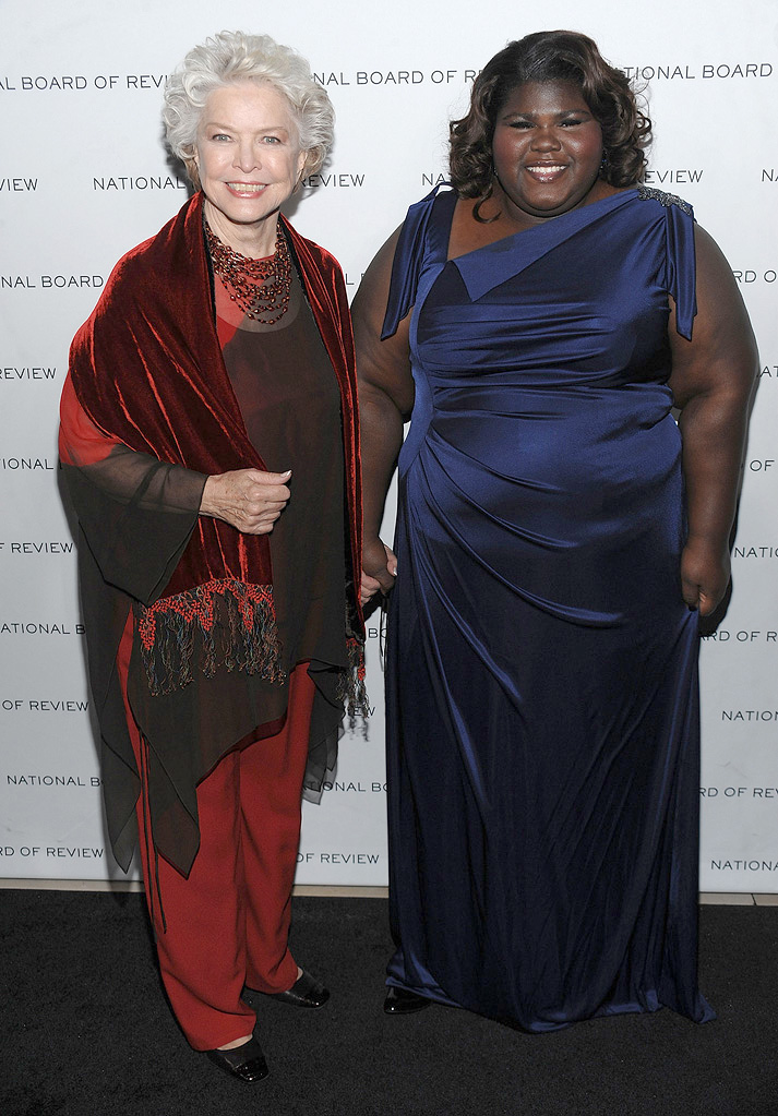 2010 National Board of Review Awards Gala Ellen Burstyn Gabourey Sidibe