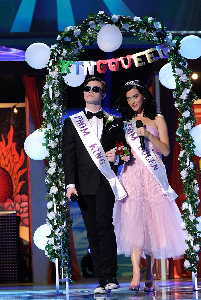 2010 Teen Choice Awards Katy Perry Chris Colfer