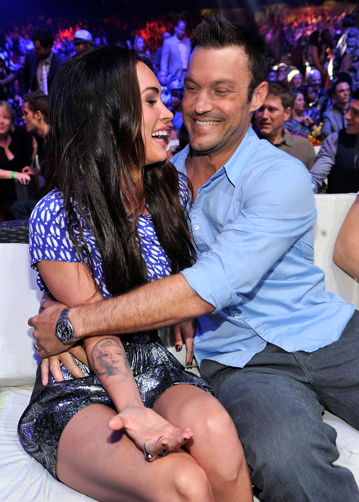 2010 Teen Choice awards Megan Fox Brian Austin Green