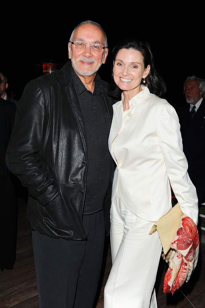 2010 Vanity Fair Party Honoring Martin Scorsese Cannes Film Festival Frank Langella