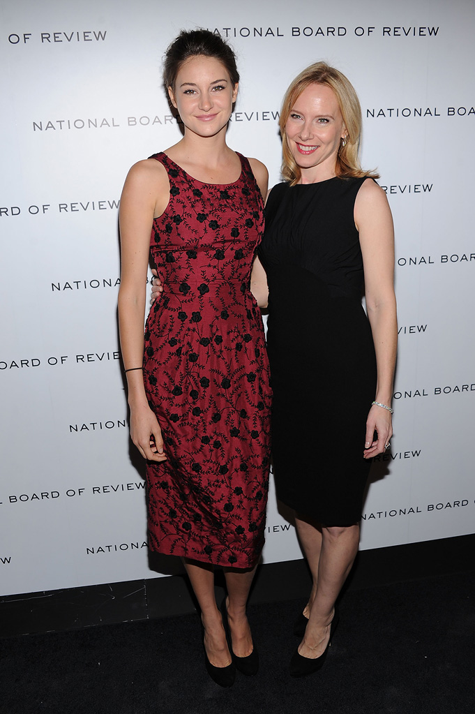 2011 National Board of Review Shailene Woodley Amy Ryan
