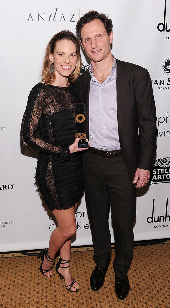 20th Annual Gotham Independent Film Awards 2010 Hilary Swank Tony Goldwyn