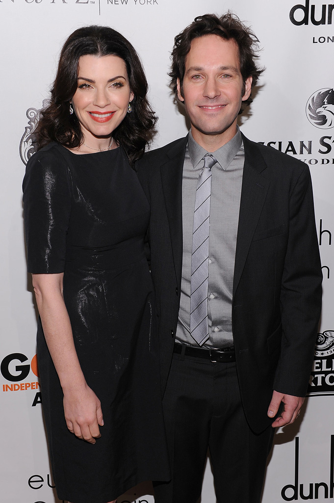 20th Annual Gotham Independent Film Awards 2010 Julianna Margulies Paul Rudd