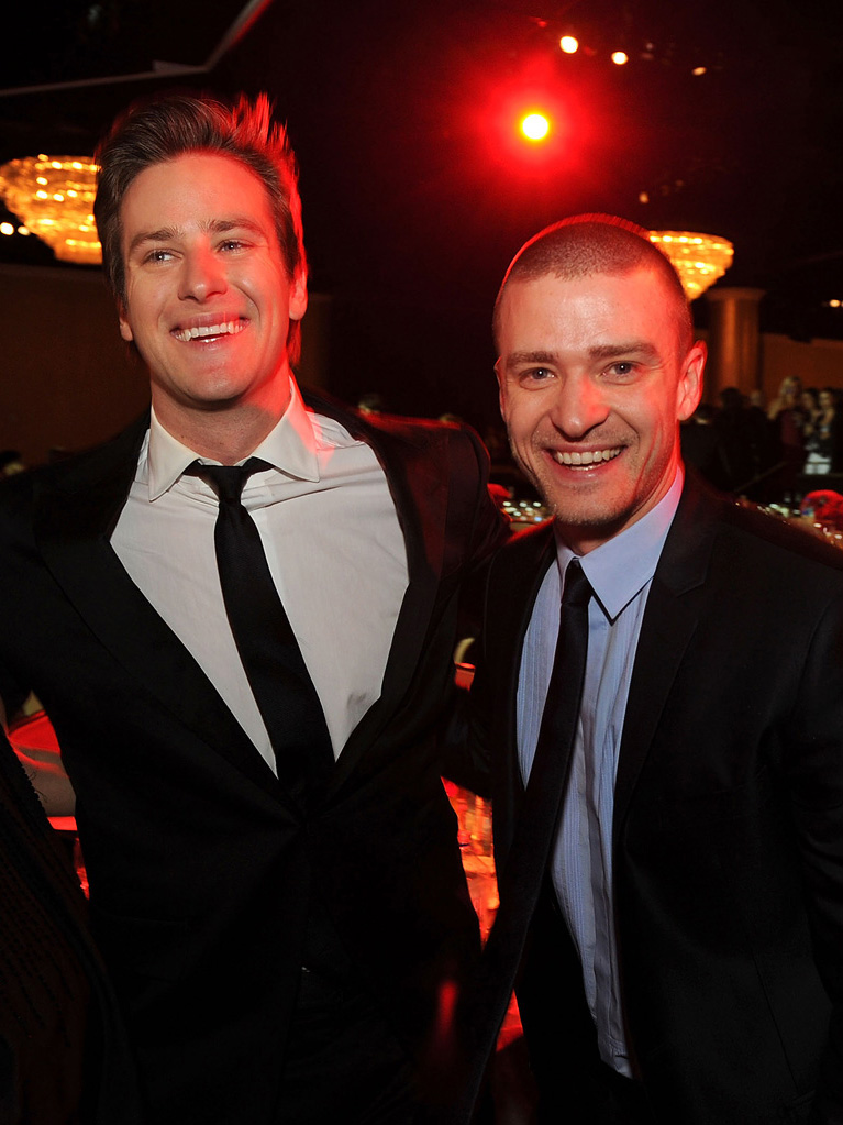 22nd Annual Producer's Guild Awards 2011 Armie Hammer Justin Timberlake