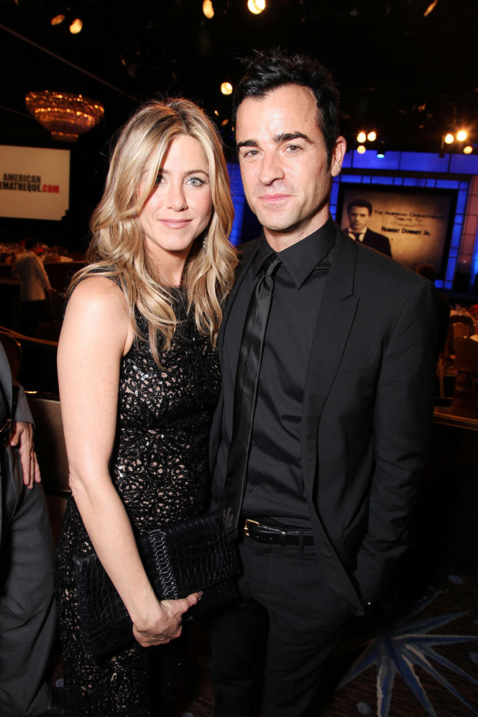 25th American Cinematheque Award Honoring Robert Downey Jr. thumb Jennifer Aniston Justin Theroux