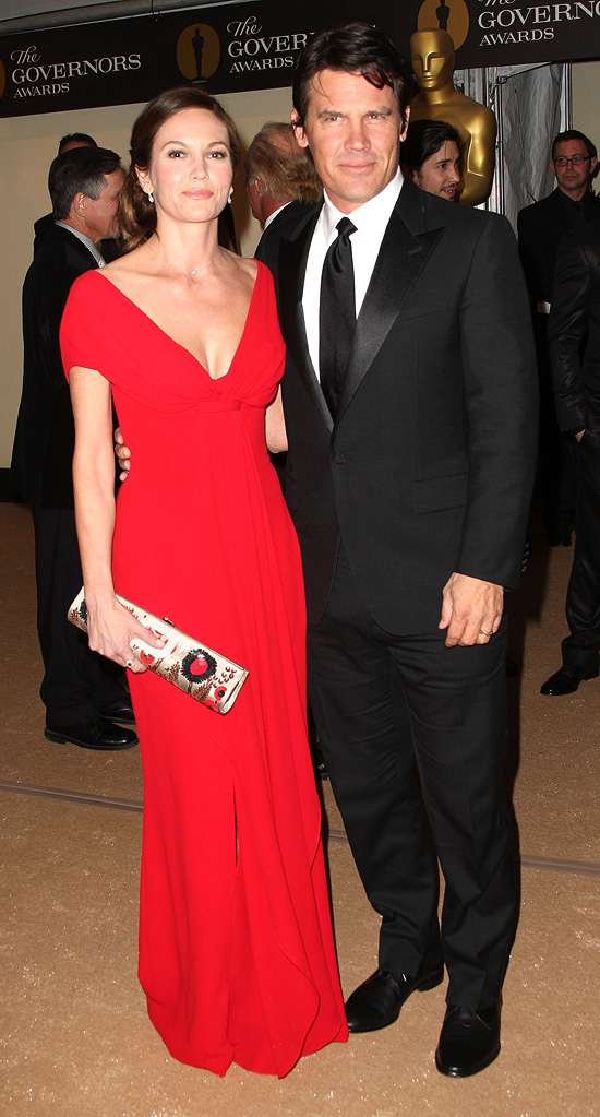 2nd Annual AMPAS Governors Awards 2010 Diane Lane Josh Brolin