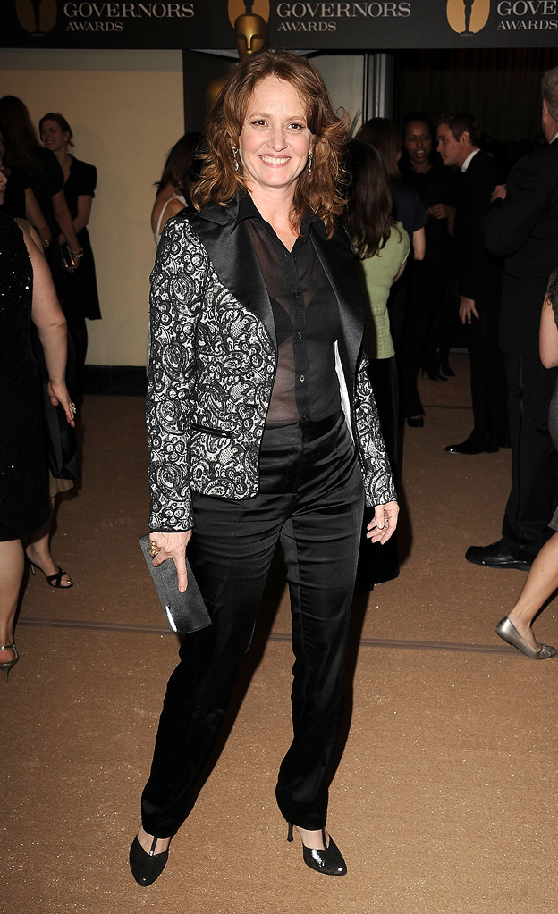 2nd Annual AMPAS Governors Awards 2010 Melissa Leo