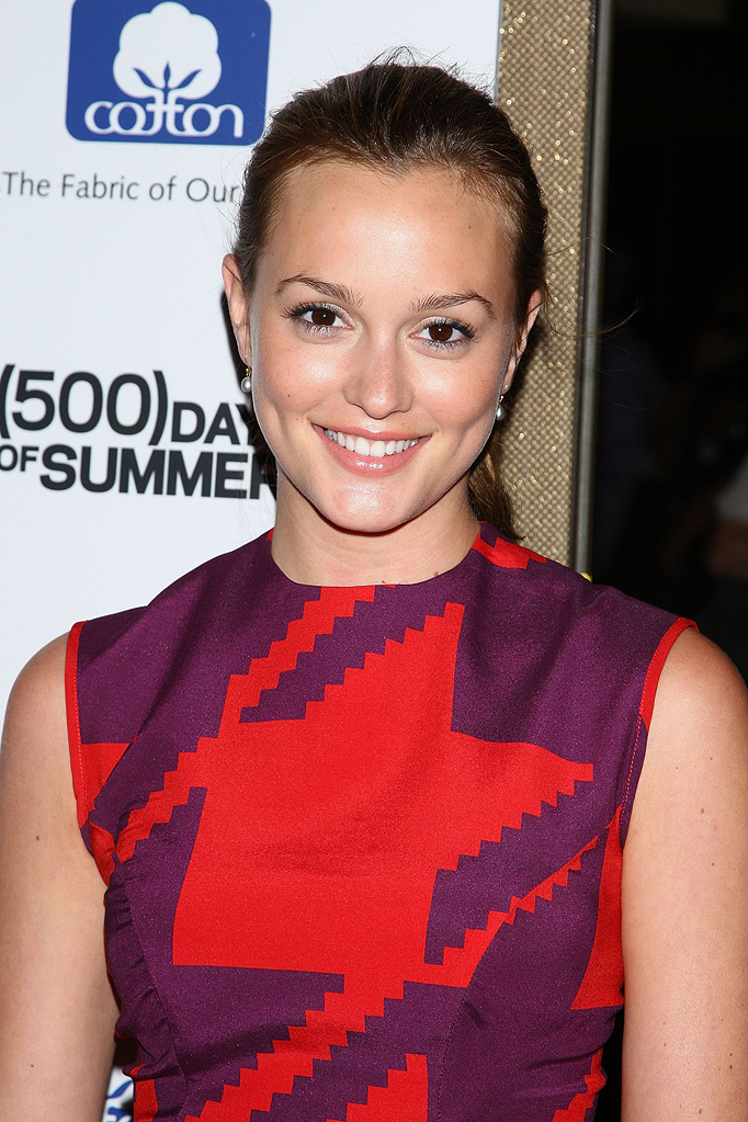 500 days of summer NY Screening 2009 Leighton Meester