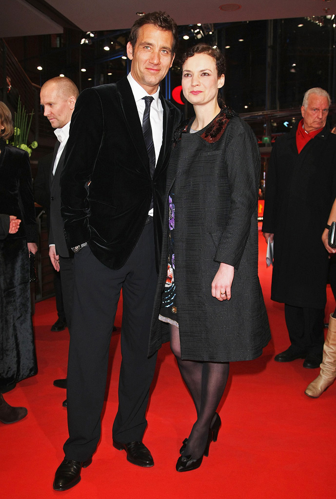 59th Annual Berlin Film Festival 2009 Clive Owen Sarah Jane Fenton