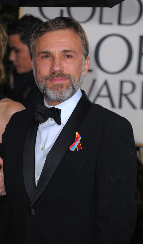 67th Annual Golden Globe Awards 2010 Christoph Waltz