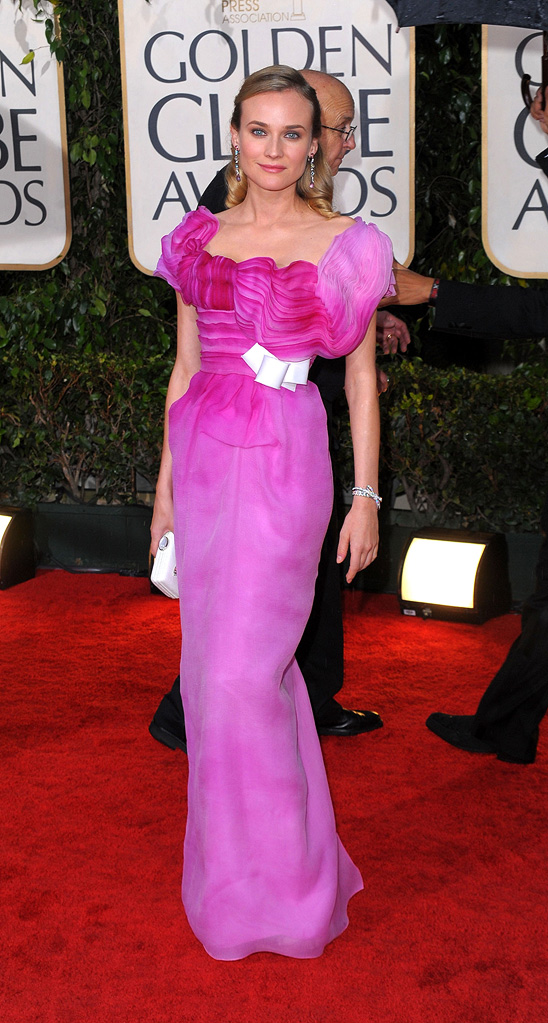 67th Annual Golden Globe Awards 2010 Diane Kruger