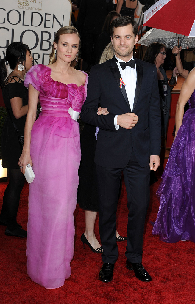 67th Annual Golden Globe Awards 2010 Diane Kruger Joshua Jackson