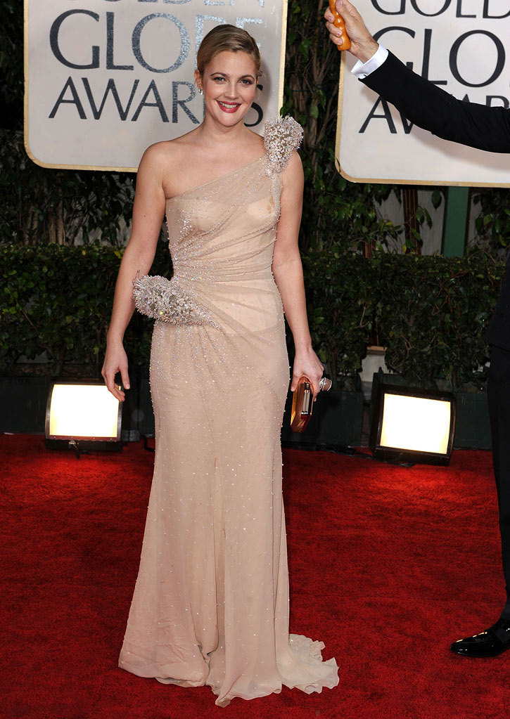 67th Annual Golden Globe Awards 2010 Drew Barrymore