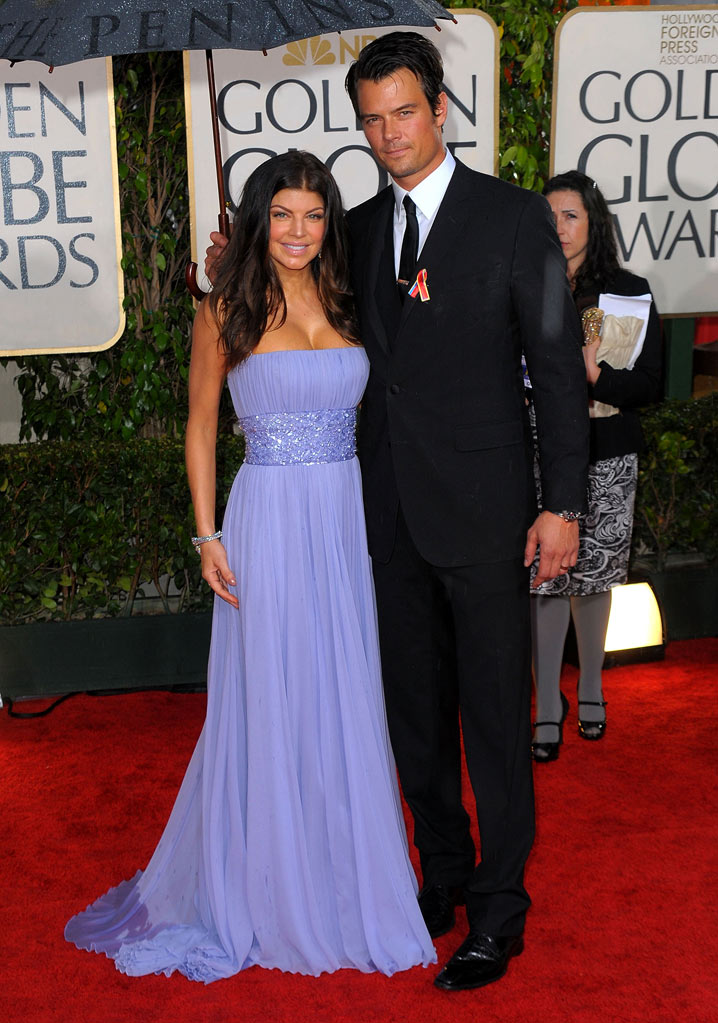 67th Annual Golden Globe Awards 2010 Fergie Josh Duhamel