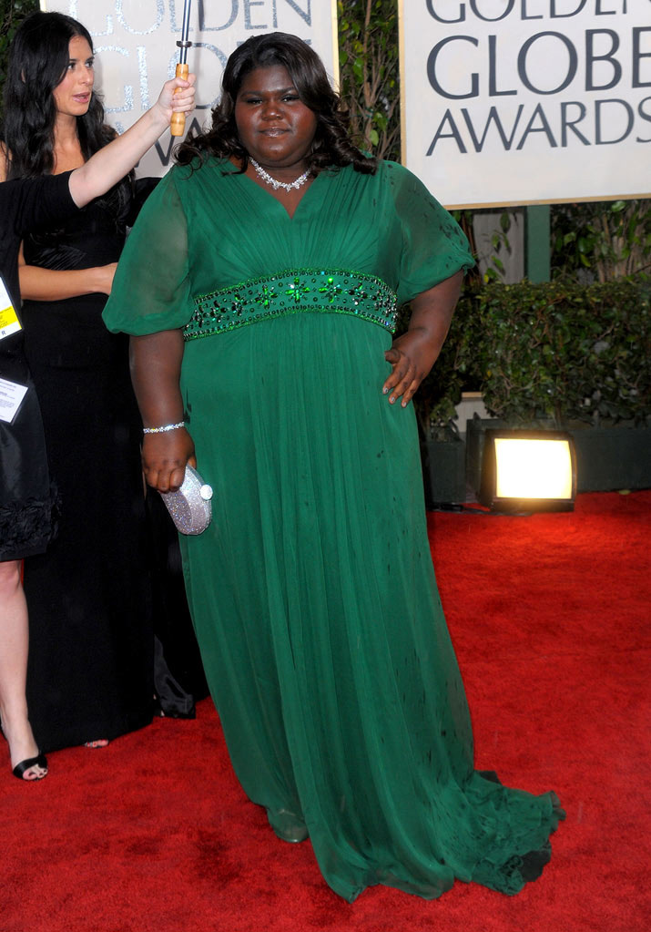 67th Annual Golden Globe Awards 2010 Gabourey Sidibe